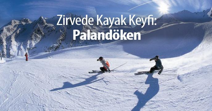 Zirvede Kayak Keyfi: Palandöken