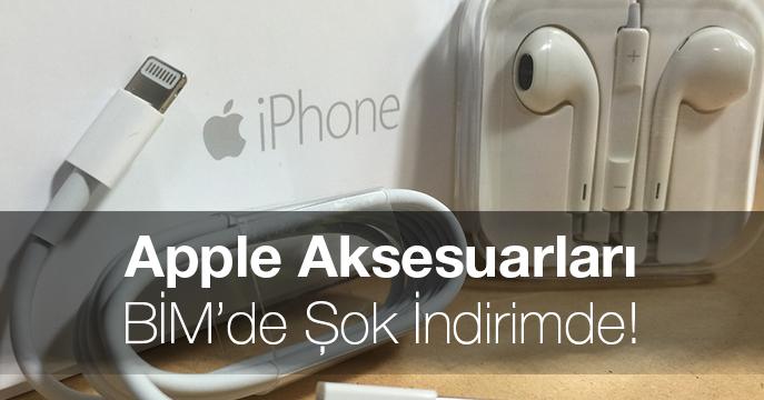 Apple Aksesuarları 13 Nisan 2018'de BİM'de Şok İndirimde!